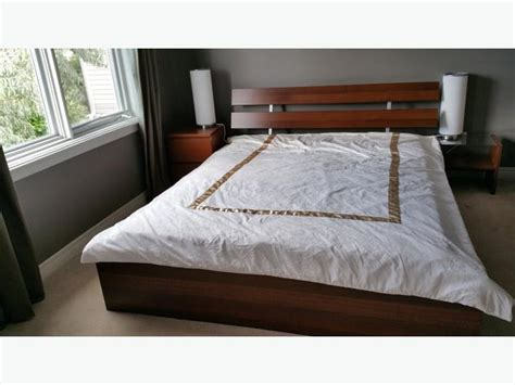 Crib Bed Frame Half Price Ikea Mlam Bed Frame Nightstands Chest Crib Mattress Kanata Ottawa