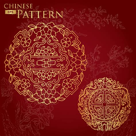 pattern vector chinese 14 chinese flower vector images chinese flowers vector