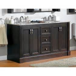menards bathroom vanity cabinets magick woods 61 quot wellington collection vanity base at menards 174
