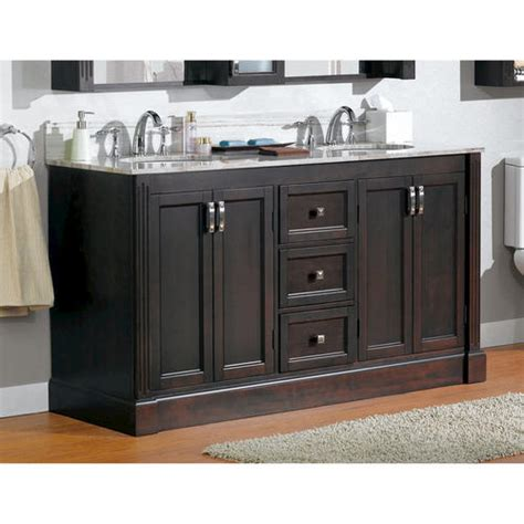 bathroom cabinets menards magick woods 61 quot wellington collection vanity base at menards 174