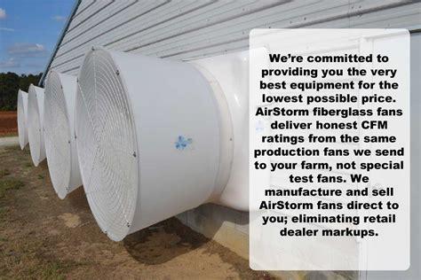 poultry house ventilation fans airstorm fiberglass fan hog slat