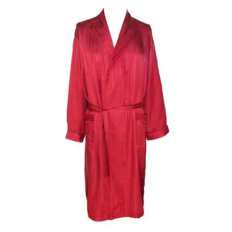 Mens Silk Shawl Robe By Majestic International Robes