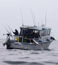 party boat portland oregon fishing charters oregon coast fishing charter salmon ocean