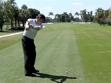justin leonard swing justin leonard super slow motion golf swing youtube