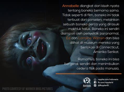 film kisah nyata annabelle 10 kisah mengerikan yang dialami kru film the conjuring