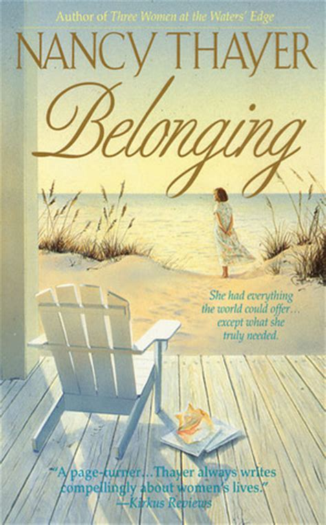 picture books about belonging belonging by nancy thayer reviews discussion bookclubs
