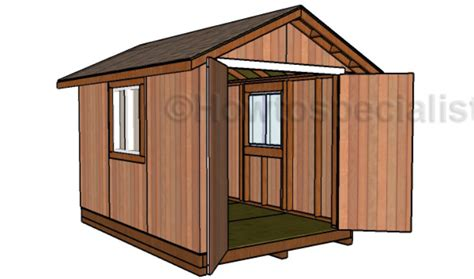 Shed Designs 8 X 12 by 8x12 Garden Shed Plans Howtospecialist How To Build