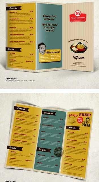 desain brosur food desain brosur restoran m pinterest