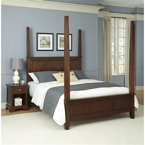 Four Poster Bed by Home Styles Chesapeake Four Poster Bed Reviews Wayfair