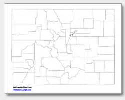 printable colorado map printable colorado maps state outline county cities