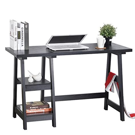 Trestle Office Desk Computer Writing Desk Laptop Table Trestle Pc Wood Home Office Desk Square Table Studying