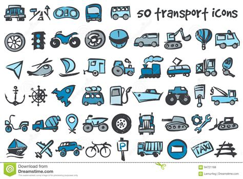 doodle icons free vector vector doodle icons set stock vector image 94721168