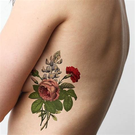 carnation and rose tattoos carnation tattoos tattoofanblog