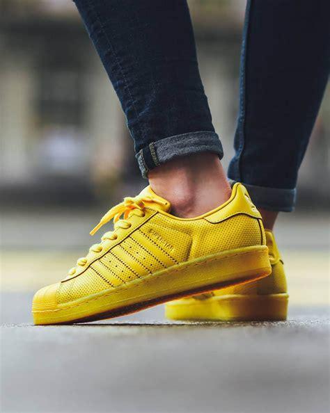 adidas superstar adicolor yellow soletopia