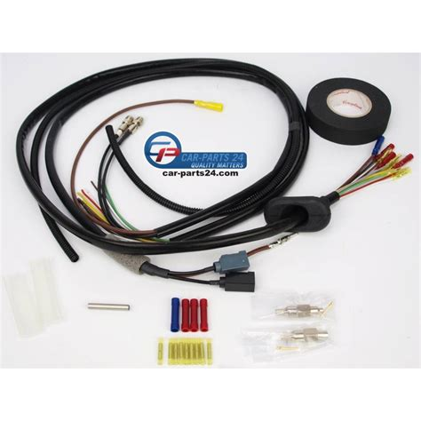repair wiring harness tailgate highly cable left
