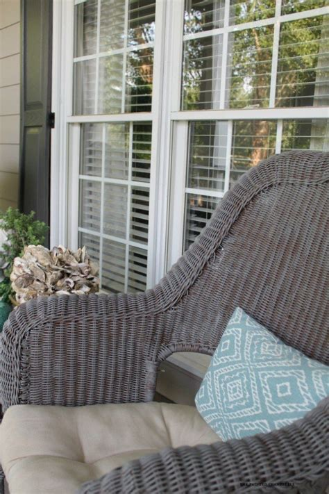 25 best ideas about painted wicker furniture on painting wicker furniture painted