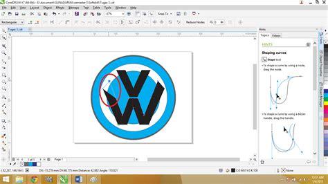 aplikasi desain huruf membuat desain logo menggunakan aplikasi coreldraw ade