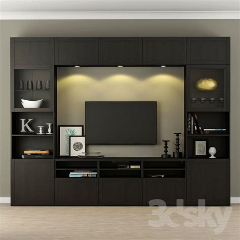 3d models wardrobe display cabinets wardrobe tv