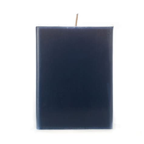 eckige kerzen blue pillar candles lookup beforebuying