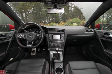 volkswagen golf gti 2015 interior 2015 volkswagen gti 2 door review with video the truth