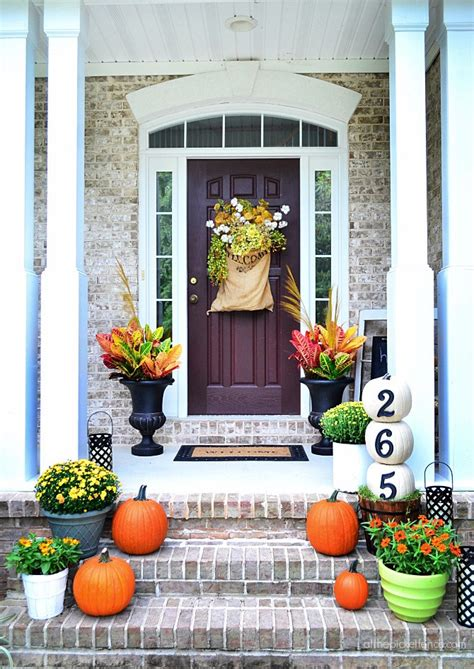 Fall Garden Decorating Ideas Fall Outdoor Decorating Ideas Living After Midnite