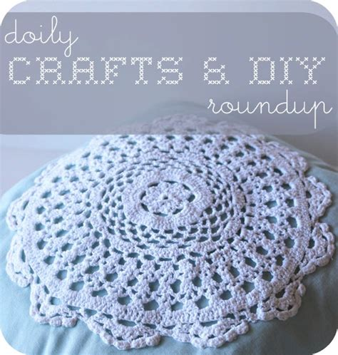 Diy Doily L by Doily Crafts Diy Roundup Shannon