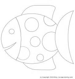 fish coloring template free coloring pages of fish template