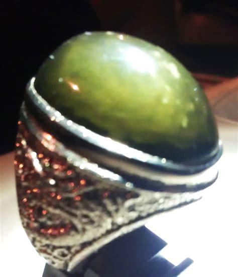 Batu Akik Sulaiman Madu Cempaka keindahan batu akik cempaka madu