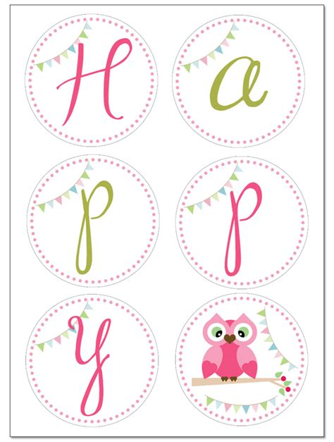 free birthday banner templates free birthday banner printable templates