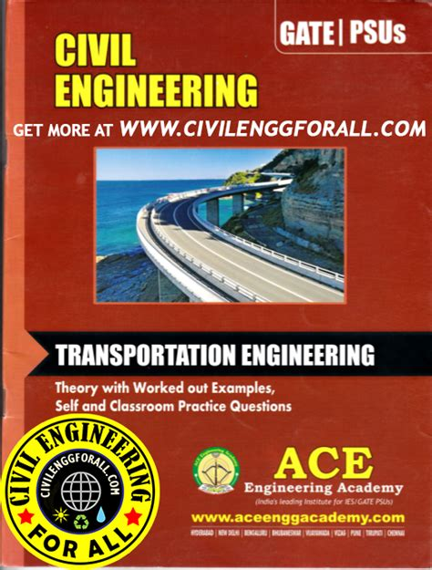 sanitary engineering books pdf gate material transportation engineering civil