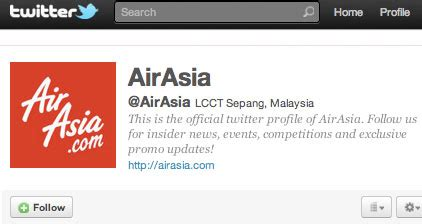 airasia twitter the airline twitter chion in asia infographic