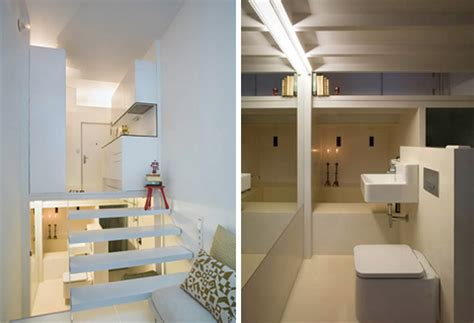 micro living spaces micro apartment uses tiers to maximize tiny living space