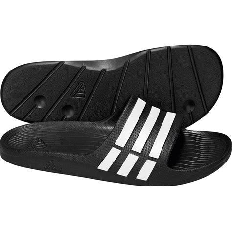 new adidas mens duramo slide flip flops sandals pool shoes