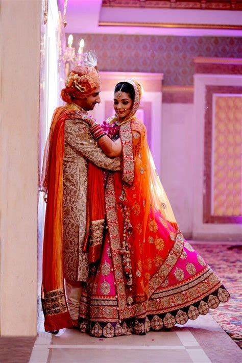 love the pink and orange combination of colours indian