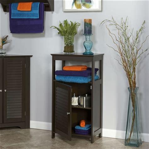 modern bathroom floor cabinet  standing storage unit