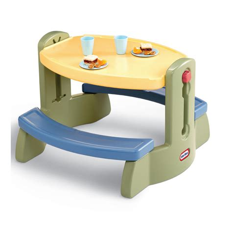 tikes fold and store picnic table tikes water table gestablishment home ideas