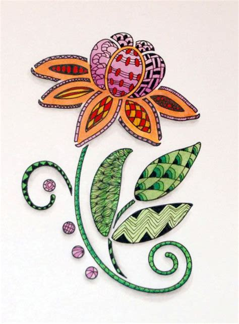 banar designs zentangle weekly challenge 15 curves zentangle art pinterest barock design und blume