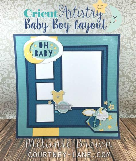 scrapbook layout baby boy courtney lane designs baby boy scrapbook layout