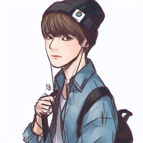 V Anime Fanart by 311 Best Bts Fanart Images On Bts Bangtan Boy