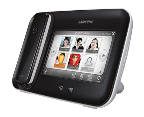 samsung digital photo frame is also a cordless phone