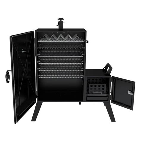Vertical Rib Rack by Dyna Glo 36 In Wide Vertical Offset Charcoal Smoker