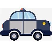 Coche De Polic&237a Dibujos Animados Cartoon Car