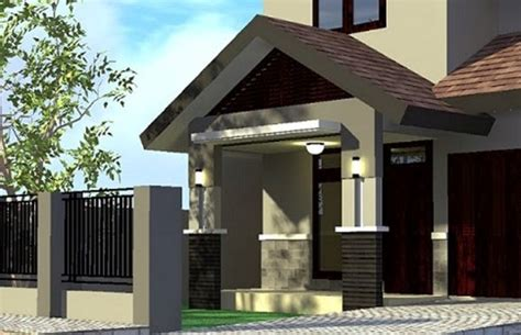 desain teras rumah atap asbes gambar desain atap teras rumah minimalis terbaru 2015