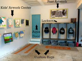 Garage Mudroom Designs Diy Garage Mudroom Makeover For The Real Family
