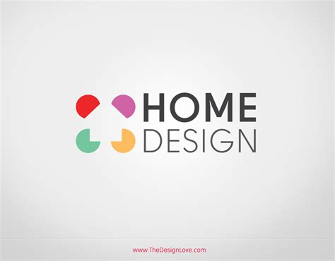 home decoration logo premium vector home design logo