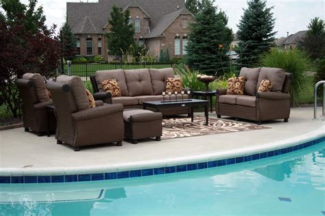 Patio Furniture All The Comforts Of Indoor Living Using Outdoor Furniture Indoors