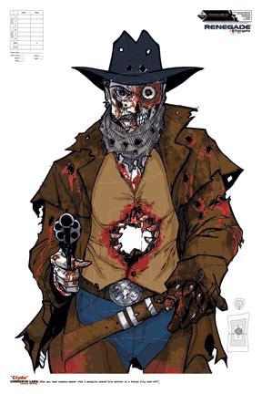 printable cowboy targets zombie cowboy targets pinterest target shooting