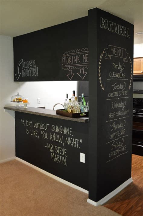 chalkboard paint wall tips chalkboard wall trend comes to modern homes 38