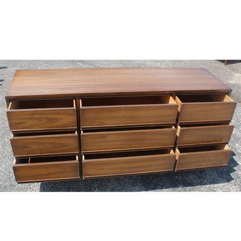 Low Dresser 63 Quot Vintage Dixie 9 Drawer Low Dresser Cabinet Ebay