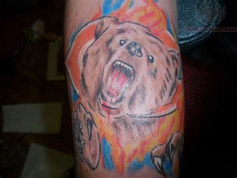 chicago bears tattoo designs chicago bears images designs